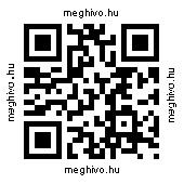 QR kódolt honlap cím