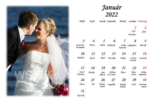Fényképes naptárak készítése az Ön legjobb esküvői fotói alapján